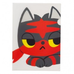 A4 Clear File Pokemon Time Litten japan plush