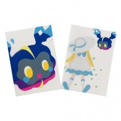 A4 Clear File Pokemon Time Cosmog japan plush