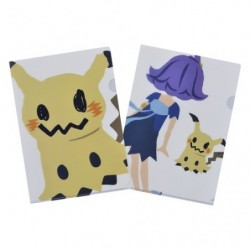 A4 Clear File Pokemon Time Mimikyu japan plush