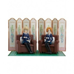 figma Darjeeling & Orange Pekoe Set GIRLS und PANZER das Finale japan plush