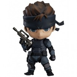 Nendoroid Solid Snake(Second Release) METAL GEAR SOLID japan plush