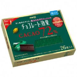 Chocolates Cacao 72 Chocolate Koka Meiji