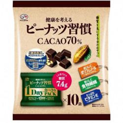 Chocolats Cacao 70 Peanuts Shukan Fujiya