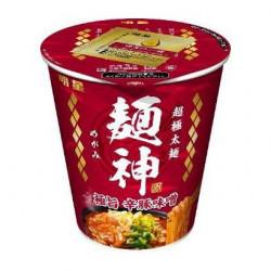 Cup Noodles Super Spicy Pork Miso Ramen Menshin Kappu Myojo Foods