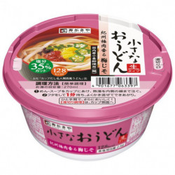 Cup Noodles Small Udon Umejiso Sugakiya