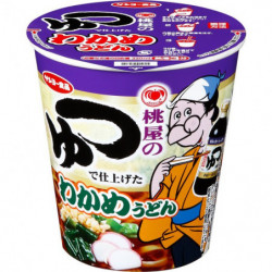 Cup Noodles Wakame Udon Momoya Soup Sanyo Foods