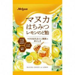 Throat Sweets Manuka Honey Lemon Meisan
