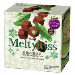 Chocolats Matcha Melty Kiss Meiji