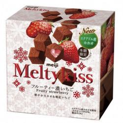 Chocolates Fruity Fraise Melty Kiss Meiji
