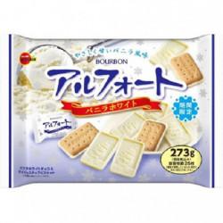Biscuits Alfort Vanilla White Large Bourbon
