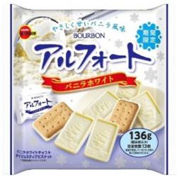 Biscuits Alfort Vanilla White Bourbon