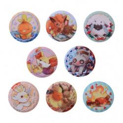 Badge Collection BOX Embroidered Walnut Pokémon Honwaka Poka Poka
