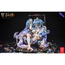 Figure Octopus Girl Treasure Chest Monster