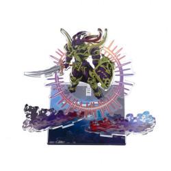 Acrylic Stand Black Luster Soldier Yu-Gi-Oh! Dramatic Acrylic Dimension