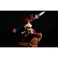 Figure Erza Scarlet Black Armor Knight Ver. Fairy Tail