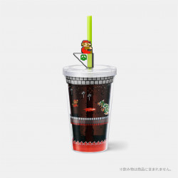 Straw Tumbler Bowser Castle Super Mario Home And Party