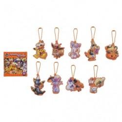 Keychain Collection Halloween Orange We Are TEAM TRICK ! japan plush
