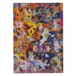 A4 Clear File Pika We Are TEAM TREAT !