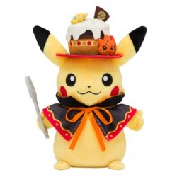 Plush Pikachu We Are TEAM TREAT ! japan plush