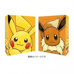 Pokemon Card Game Collection File Pikachu and Eevee japan plush