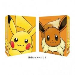 Pokemon Jeux de Carte Collection Classeur Pikachu et Evoli japan plush