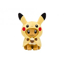 Peluche Evoli Poncho Pikachu japan plush