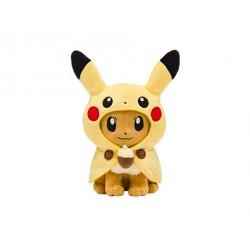 Plush Eevee Poncho Pikachu japan plush