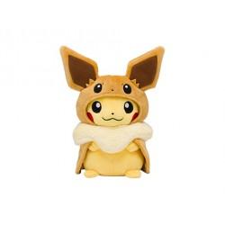Plush Pikachu Poncho Eevee japan plush