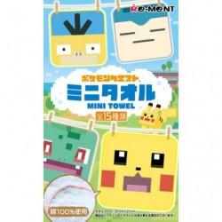 Pokemon Quest Mini Towel BOX japan plush