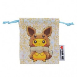 Mini Pocket FAN OF PIKACHU & EEVEE japan plush