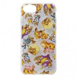 Soft Cover Smartphone FAN OF PIKACHU & EEVEE japan plush