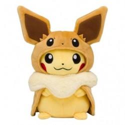 Peluche Pikachu Poncho Evoli