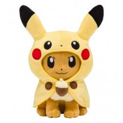 Plush Eevee Poncho Pikachu japan plush