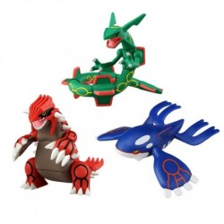 Moncolle Figure Legendary Pokemon Set japan plush
