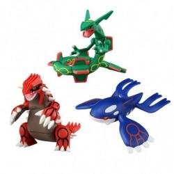 Moncolle Figurine Legendary Pokemon Set japan plush