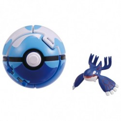 Moncolle Figure Poke Out Dive Ball Kyogre japan plush