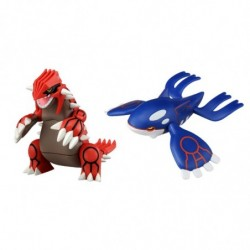 Moncolle Figurine Groudon Kyogre Set japan plush