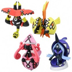 Moncolle Figure Alola Guardian Set japan plush