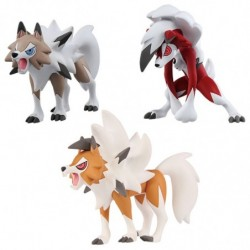 Moncolle Figure Lycanroc Set japan plush