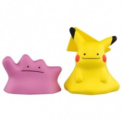 Moncolle Figure EX ESP-19 Ditto Pikachu japan plush