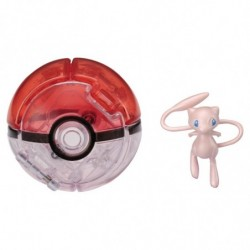 Moncolle Poke Out Mew Pokeball japan plush