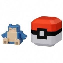 Pokemon Quest Collection Pokeball Ronflex japan plush