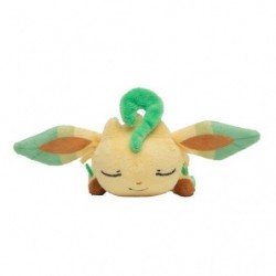 Kuttari Plush Leafeon Sleeping japan plush