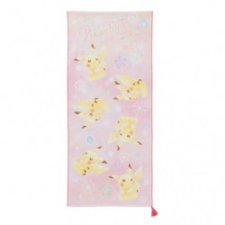 Face Towel Pikachu japan plush