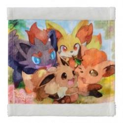 Hand Towel MOFU-MOFU PARADISE Eevee japan plush