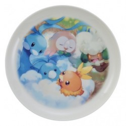 Plate MOFU-MOFU PARADISE Altaria japan plush