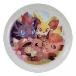 Plate MOFU-MOFU PARADISE Eevee japan plush