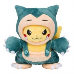 Peluche Pikachu Mania Ronflex japan plush