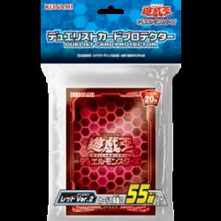 YuGiOh Protège-cartes Rouge Ver.2 japan plush