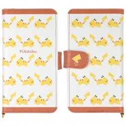 Protection Flip Case Pikachu japan plush